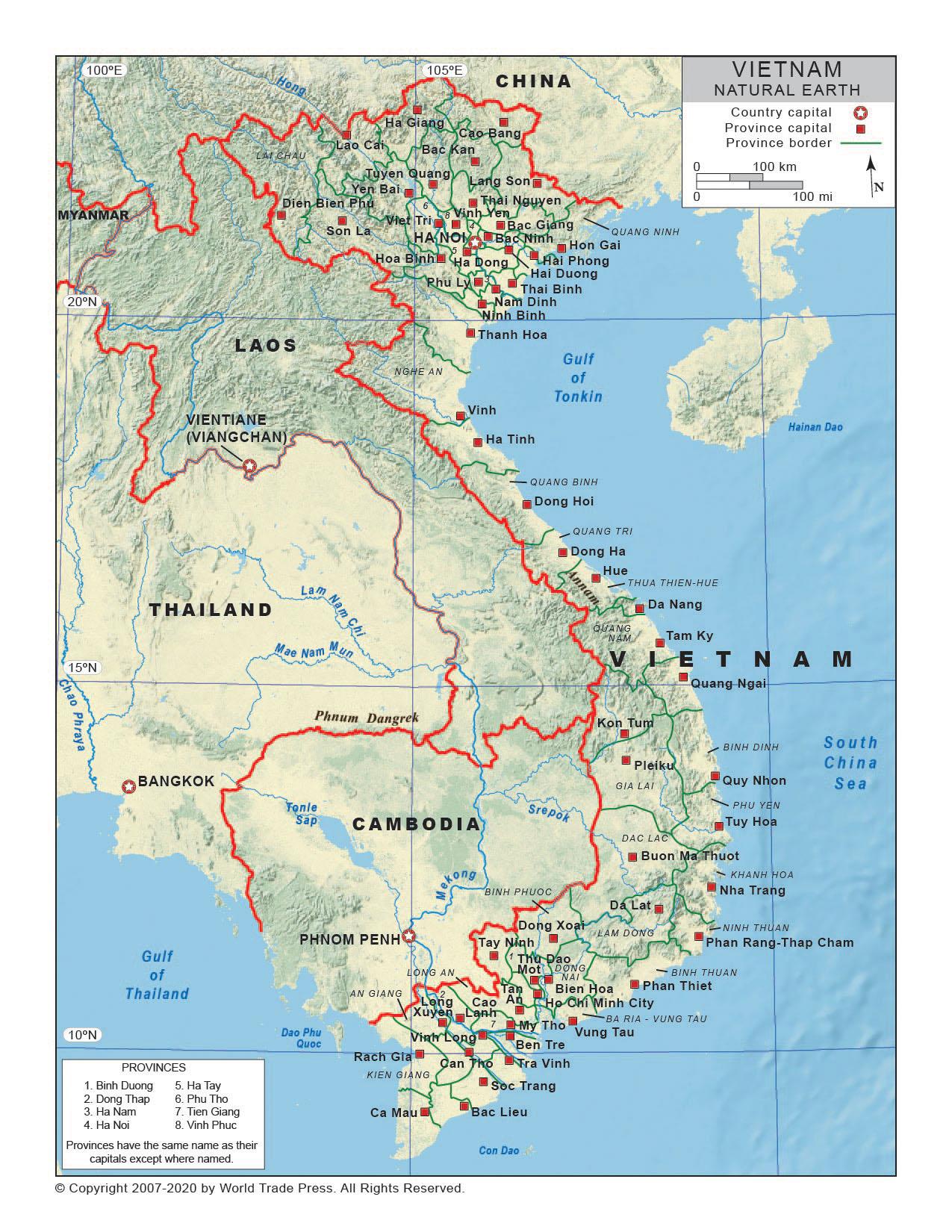 Natural Earth Map